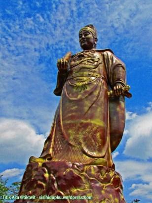 Patung Laksamana Zheng He.