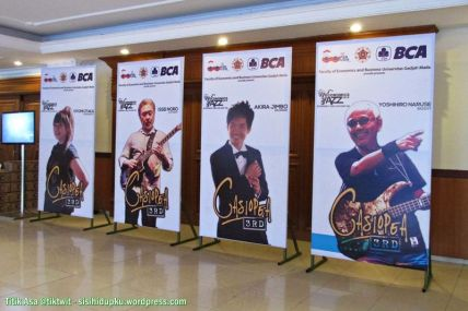 Poster anggota grup band Casiopea 3rd