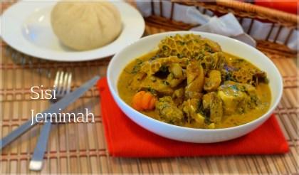 Image result for Omisagwe soup