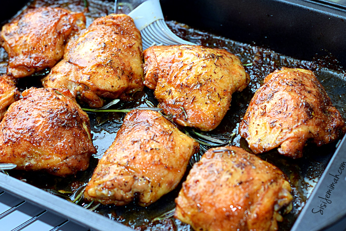 7-Spice Perfect Roasted Chicken Thighs