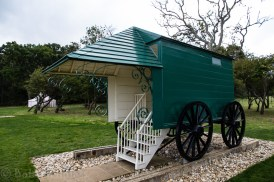Queen Victoria's Personal Bathing Machine - Osborne House