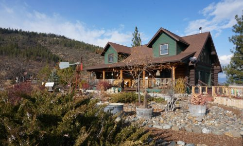 Siskiyou Partners Real Estate Featured Property - Log House on 45.5-acre