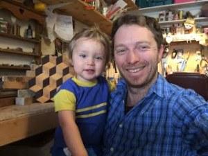 Dev Klarer and son