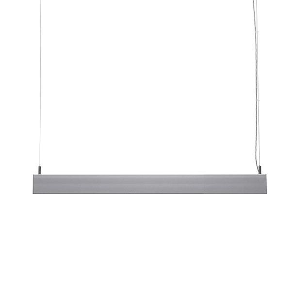 LED-Leuchte SIS-Licht mit Stahlseilabhängung - Seitenansicht