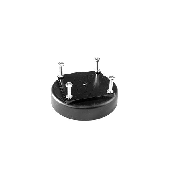 schwarzer Magnetfuß 008-50.90 für SIS-Maschinenleuchten