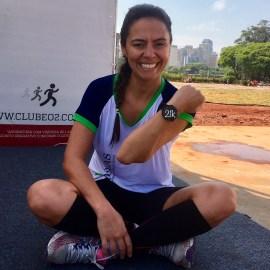 Fabiana Silva: diversão e sua primeira maratona na Disney