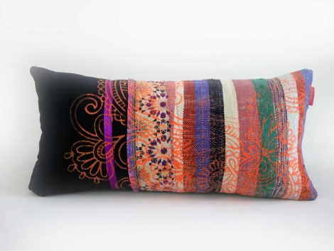 """Housse Coussin Mini Patch """"Oujda"""""""
