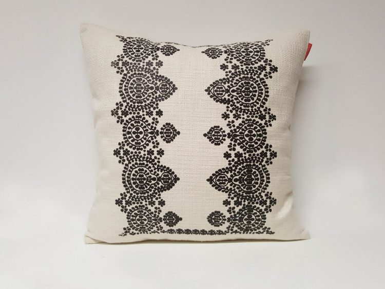 Housse Coussin Sérigraphie Broderie n°4