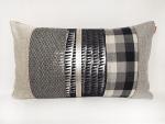 housse-de-coussin-patchwork-carreau-noir-blanc-argent-sissimorocco