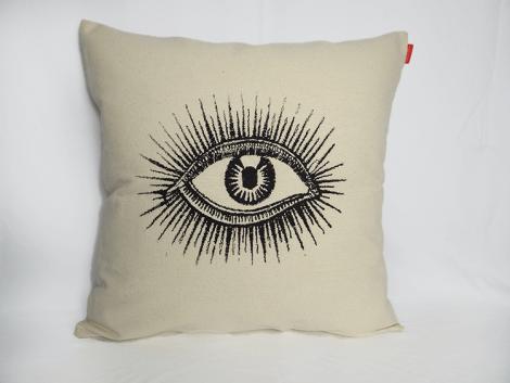 housse-coussin-oeil-coton-55×55