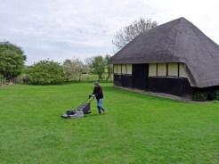 Summer work: mowing