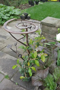 Cornus handrail from the forge