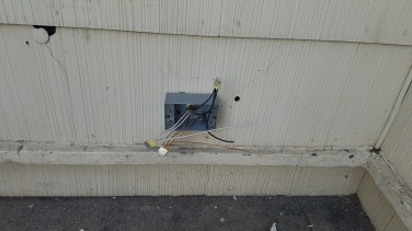 2nd code require outsite outlet.