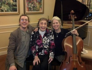 Norma with Adam and Susan