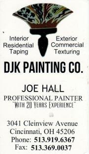 DJK Painting Co_Joe Hall