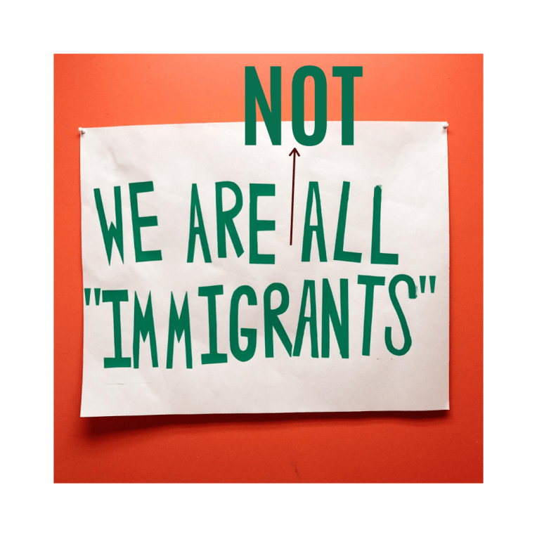 "The USA is not ""a country of immigrants"" and this is why…"