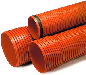 Tubo PVC Naranja