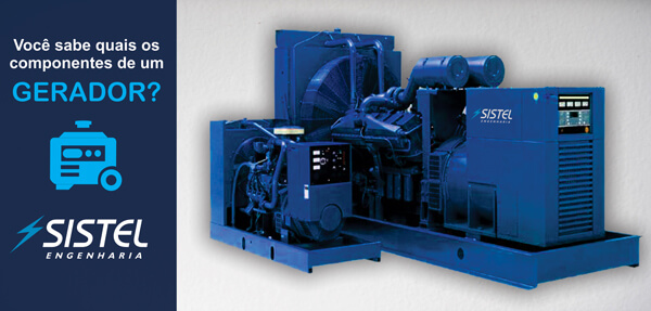 Quais as partes de um gerador de energia?