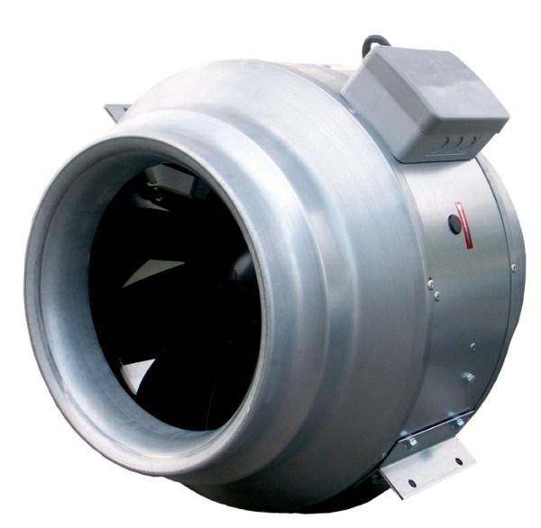 Круглый канальный вентилятор KD