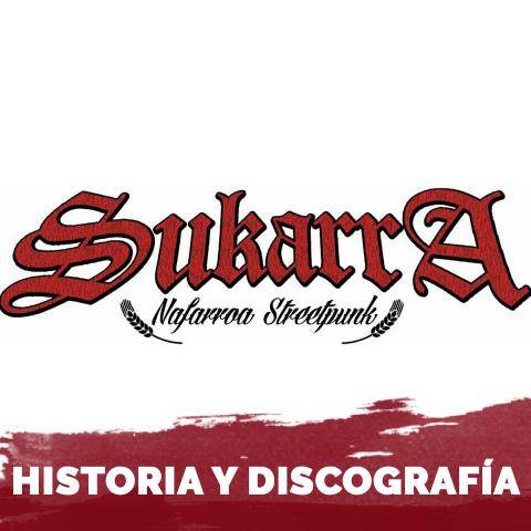 Logo de la banda de streetpunk sukarra