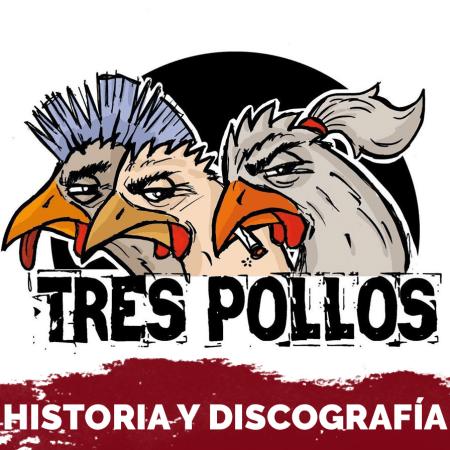 Logo del grupo tres pollos