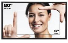 Monitor LED de gran formato para hacer videowall