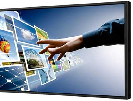 Pantalla publicitaria utilizada por SistemasAudiovisuales - VisualPlanet