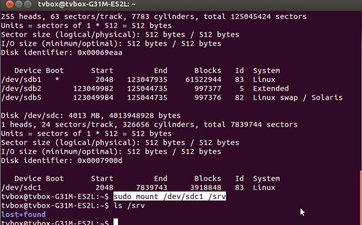 El sistema de ficheros. Dispositivos en Linux