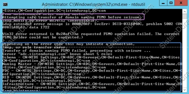 Windows Server 2012 R2 FSMO Rol Seize (11)