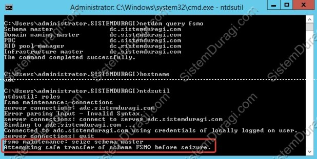 Windows Server 2012 R2 FSMO Rol Seize (8)
