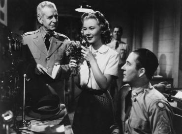 WE'RE NOT MARRIED!, Selmer Jackson, Mitzi Gaynor, Harry Harvey, 1952, (c) 20th Century Fox, TM & Copyright