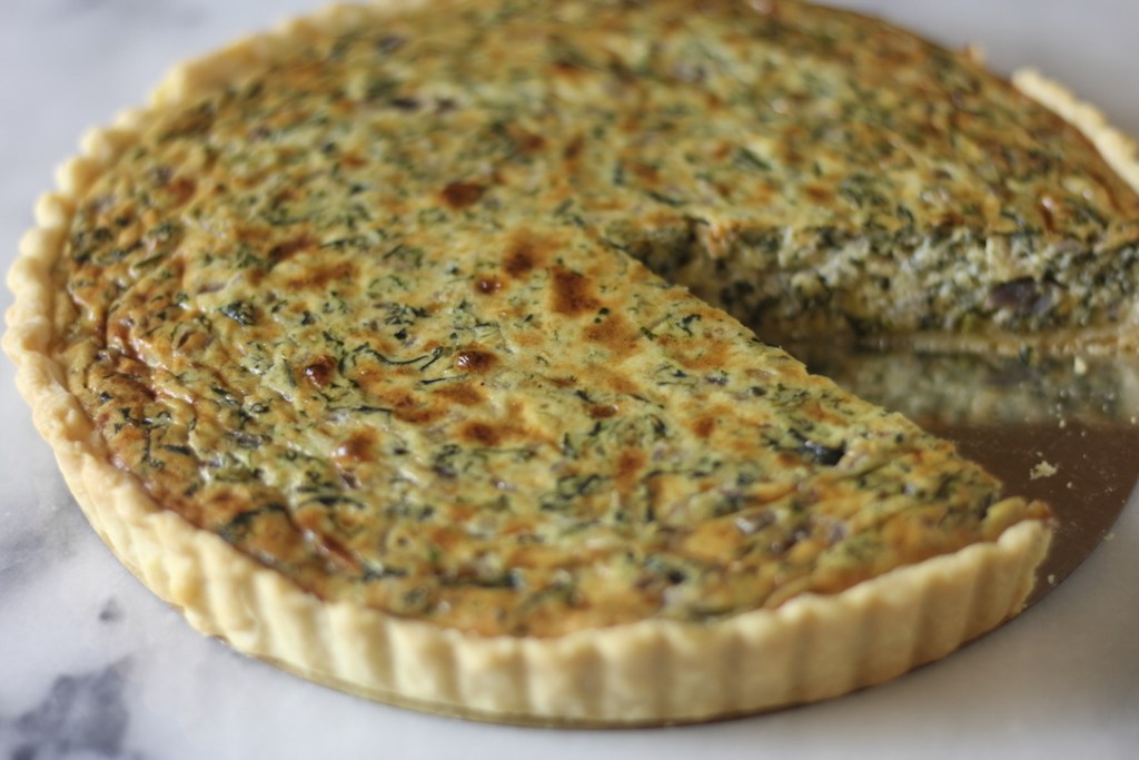 Fresh Spinach Pie