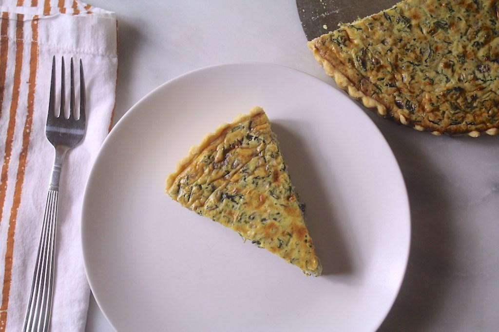 Fresh Spinach Pie