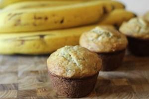 Easy and Moist Banana Muffins