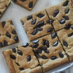 Chocolate Chip Cookie Bars + Video