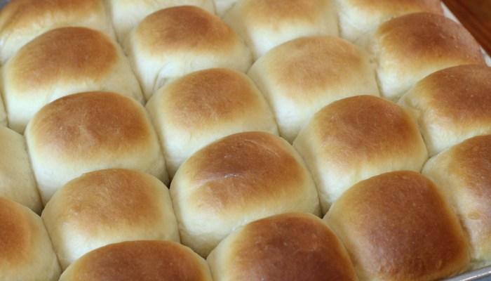 big batch dinner rolls