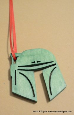 boba fett ornament