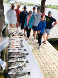 Had a great day on the water for this corporate group!-Bayou Barbie Outfitters_Louisiana