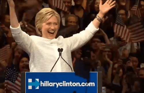 Hillary Clinton Makes History