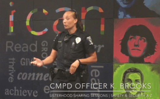 Power Of Women Sharing Safety Tips: CMPD Officer Brooks On Distraction And Deterrent