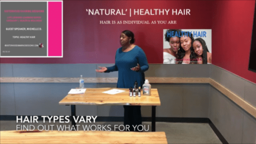 Naturalista Michelle D. | Healthy Hair