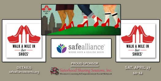 Walk A Mile In Her Shoes-April 2019