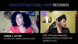 Natural Healthy Hair Regimen