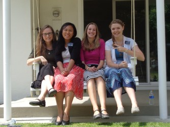 Sister Robinson, me, Sister Dunn and Sister Colson :) we love these sisters