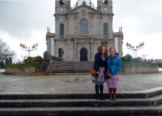 Sister Parkinson & Sister Runyan at Bom Jesus do Monte
