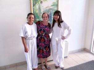 Cris, Sister Runyan & Ana