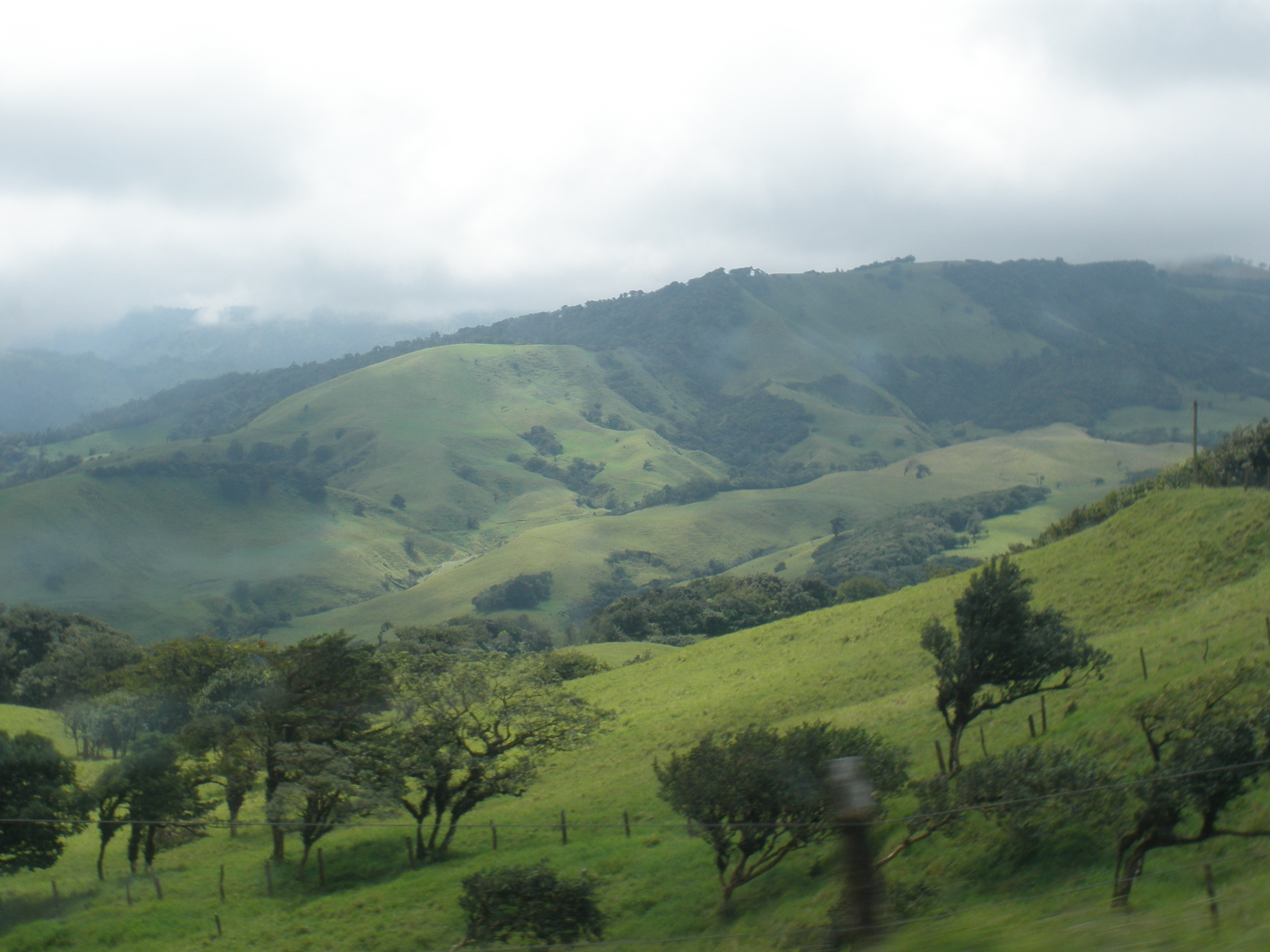 The drive to Monteverde