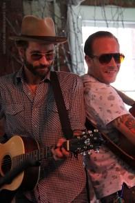 Joe Fletcher and John McCauley, Nashville to Newport (Museum Stage, Saturday)