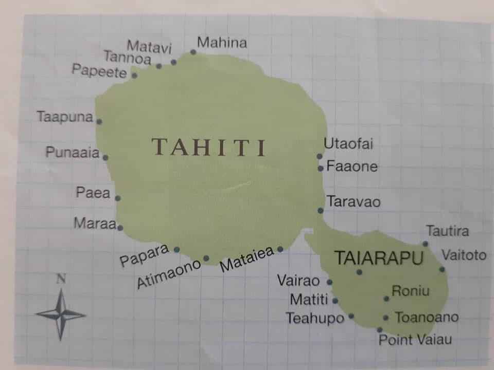 circumnavigate Tahiti
