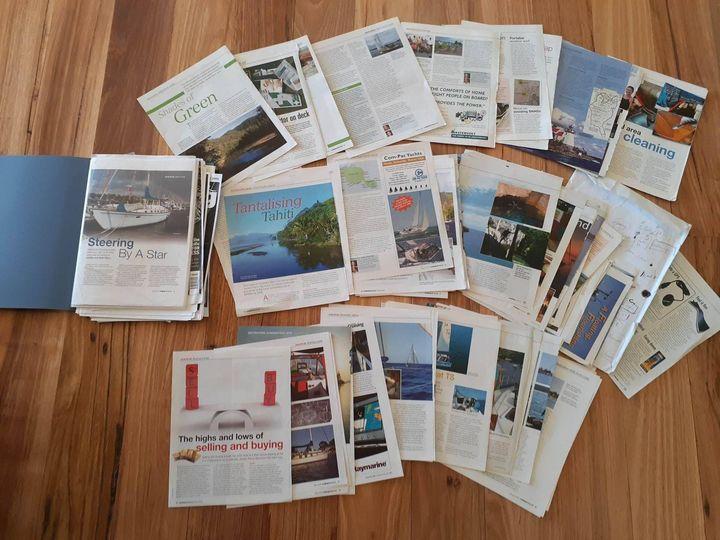 cruising helmsman, afloat, and other boating magazines